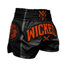 Шорты WIcked One Muay-Thai Cross Black